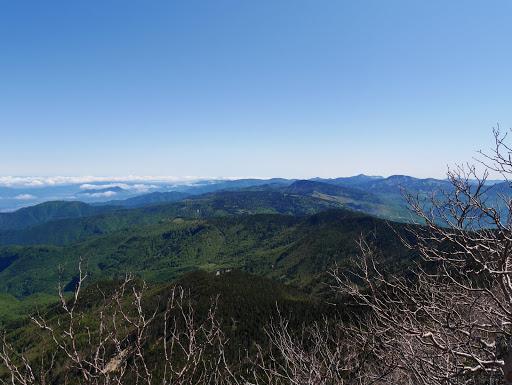 浦倉山方面