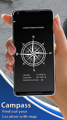 Earth Map Live GPS:Navigation & route planner 2019 screenshot 2