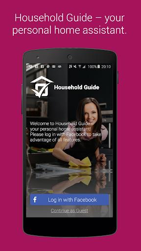 Household Guide: Shopping List