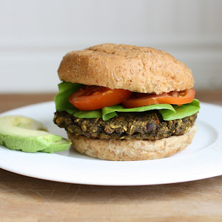 The Stuffed Veggie Bean Burger