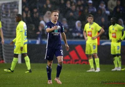 Plusieurs retours à l'entraînement d'Anderlecht