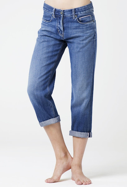 Photo: The MiH Jeans London Boy Cropped in Skip. Shop this style http://www.mih-jeans.com/chloe-lonsdale-picks/the-london-boy-cropped-skip.html