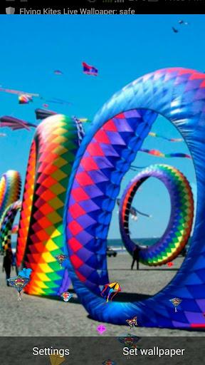 Flying Kite Live Wallpaper