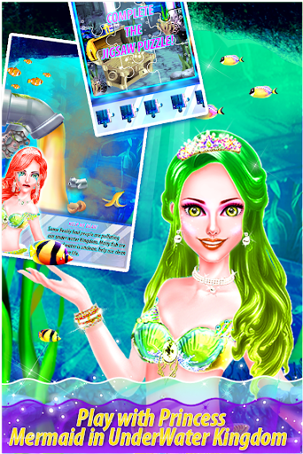 My Little Mermaid - Magical Kingdom Story 1.0.2 screenshots 12