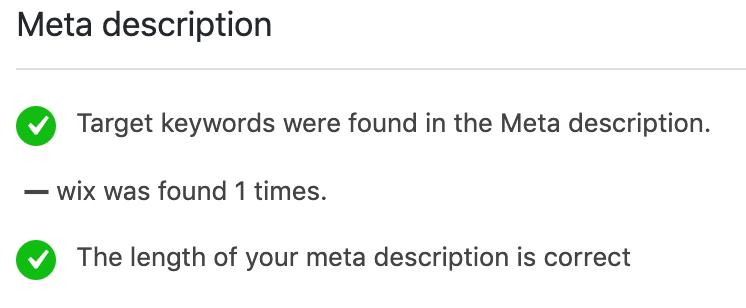 meta beschrijving