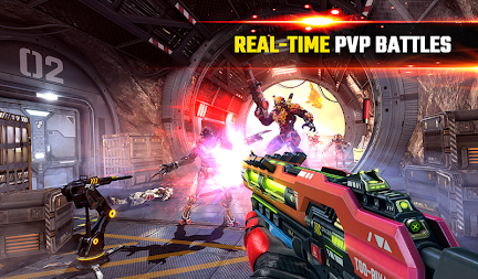 SHADOWGUN LEGENDS - FPS PvP Free Shooting Games APK screenshot thumbnail 18