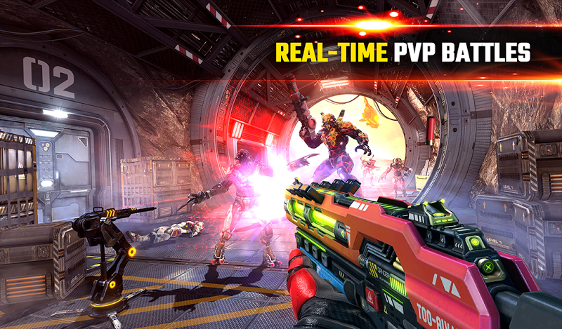SHADOWGUN LEGENDS - FPS PvP and Coop Shooting Game Screenshot 17