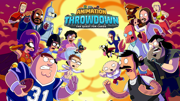Animatsioon Throwdown: TQFC APK screenshot thumbnail 8