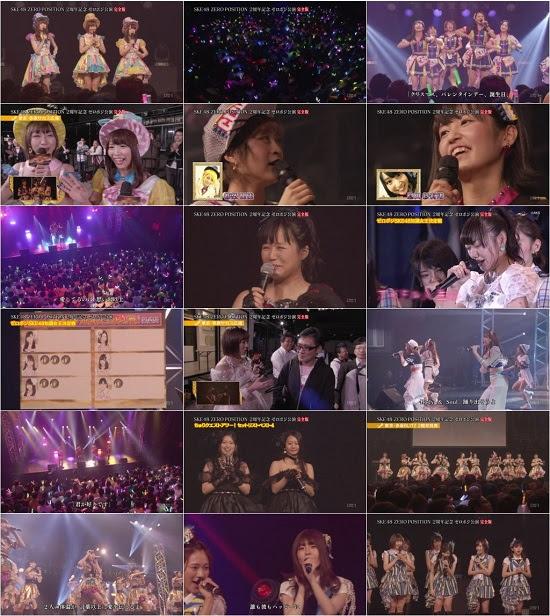 (LIVE)(720p+1080i) SKE48 ZERO POSITION 2周年記念ゼロポジ公演 Full Ver. 170929