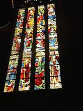 Photo: Vitrail de la cathédrale