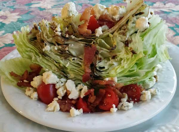 Wedge Salad With Balsamic