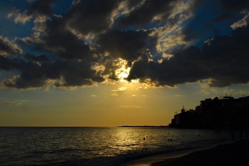 Dopo la tempesta........ la meraviglia del tramonto di Domidi