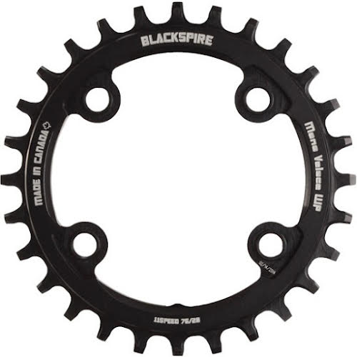Blackspire Snaggletooth Narrow-Wide Chainring, 76BCD 28t
