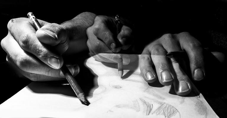 Disegnare, la mia panacea.  di Simone Fedeli