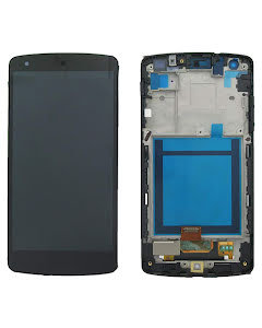 Nexus 5 Display Digitizer with Black Frame Black