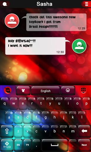 Red Lights Keyboard
