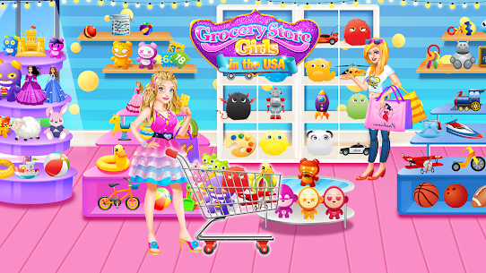 Grocery Store Girl in the USA – Shopping Games 1.2 Mod APK Updated Android 2