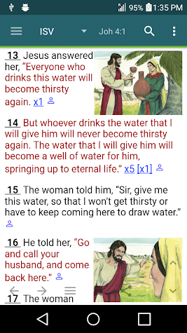 MySword Bible Screenshot