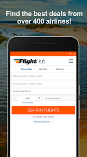 FlightHub - Book Cheap Flights, Hotels and Cars - náhled