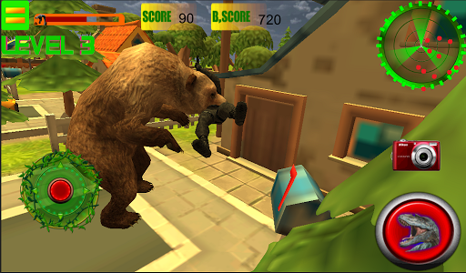 Bear simulator city Attack 3D