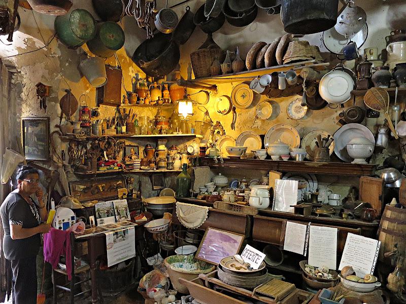 Peschici: piccolo museo di Yoyo