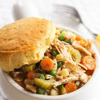 The BEST Slow Cooker Chicken Pot Pie.