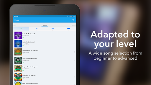 Coach Guitar: How to Play Easy Songs, Tabs, Chords 1.0.75 screenshots 11