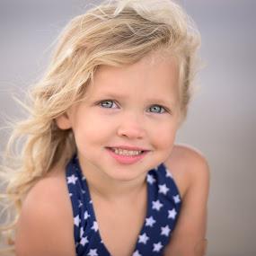 Glamour Ruby by Nancy Arehart - Babies & Children Children Candids ( girls, curls, blond, children, eyes )