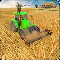 Tractor harvesting Simulator 2018 - Farming land icon
