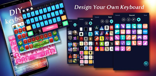 DIY Keyboard app (apk) free download for Android/PC/Windows screenshot