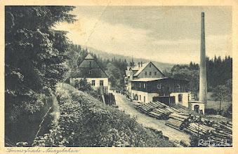 Photo: Wünschendorf im Erzgebirge Sachsen  Hammermühle Neunzehnhain - alte Postkarte von 1930 (Ich besitze diese Karte,habe aber keine Rechte am Bild)