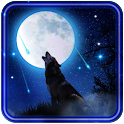 Wolf Moon Song live wallpaper icon