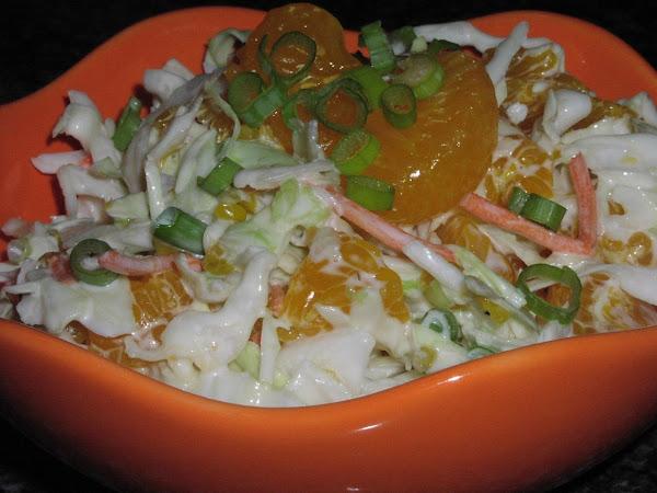 Mandarin Orange Slaw Recipe