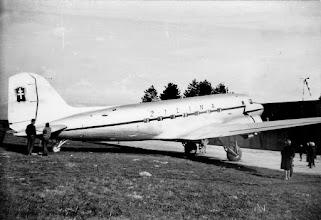 Photo: DC-3 v Žiline  Laco Akro