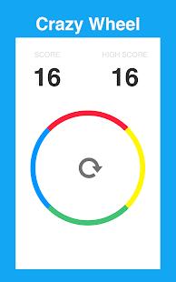 7 Crazy Wheel App screenshot