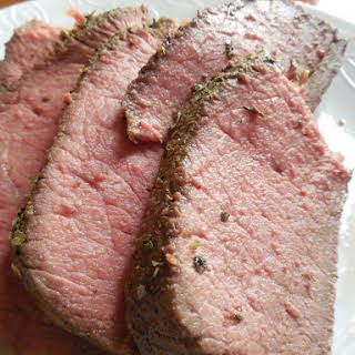 Perfectly Cooked Prime Rib.