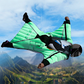 Wingsuit Glide Android APK Download Free By Interactive Games