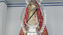 Virgen de la Cabeza en su ermita del Cerro de Monteagud.