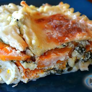 Healthy Butternut Squash Lasagna