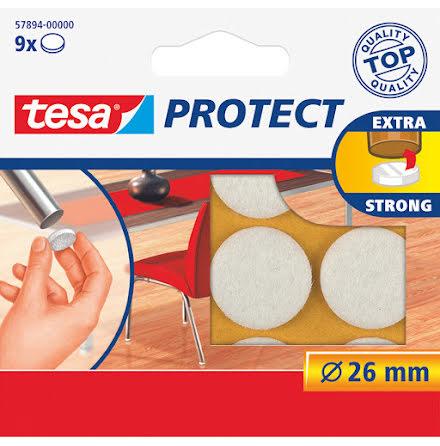 Filttassar Tesa 26mm vit 9/fp