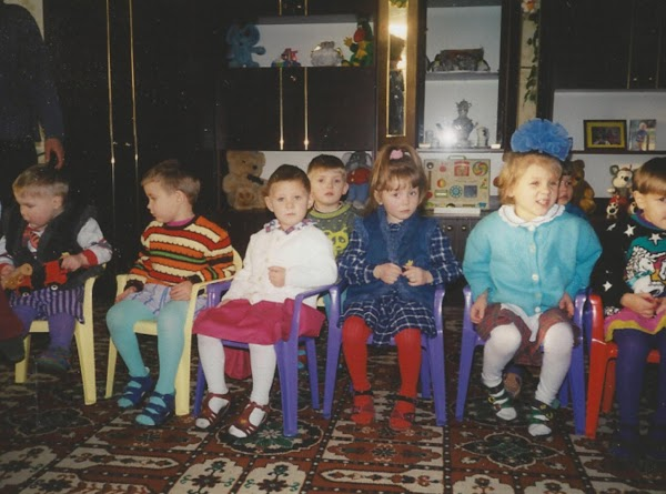 Here is a picture of the younger children who we also spent time with....aren't...