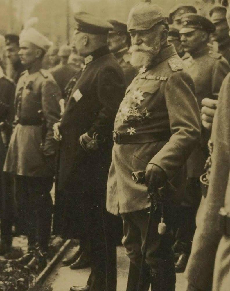 Генерал фон Кірбах. Керував унікальною операцією по евакуації великої кількості військ Фото. 1918 р.