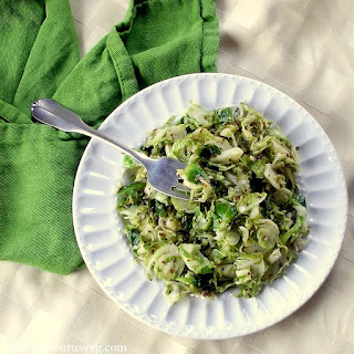 Dijon Sauteed Brussels Sprouts.