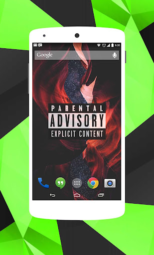Parental Advisory Wallpaper HD 4K Screenshot 4
