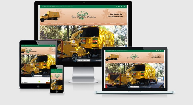 Top 12 Design Firms February - Top Design Firms - Responsive - Websites Depot Inc - Your Way Tree Service.jpg