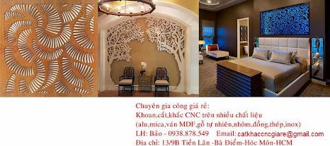 Nhận gia công cắt, khắc CNC gỗ, mica, alu các loại giá siêu rẻ chỉ 150,000/1m2. - 5
