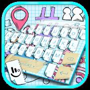 Doodle Style Keyboard Theme
