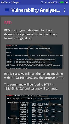 Learn Kali Linux 2.1 screenshots 4
