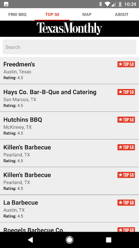 Texas Monthly BBQ Finder  screenshots 4
