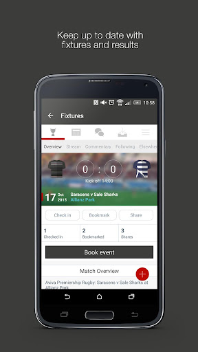 Fan App for Saracens